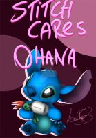 Happy Mother's Day: Stitch Playing House by LeanRB