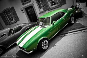 greenCamaro by AmericanMuscle
