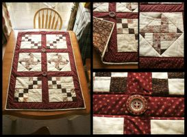 First Quilt by handtoeye