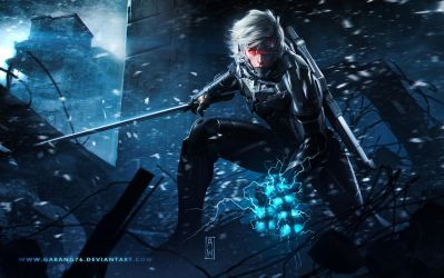 Raiden Metal Gear Revengeance Tribute by AdmiraWijaya