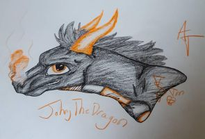 Johnny The Dragon  by TheSkyPack