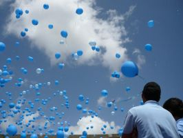 a thousand ballons agnst drugs by DeathItself