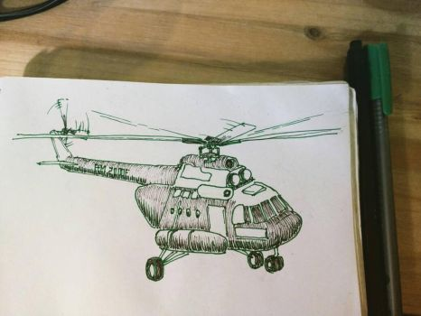 Helicopter by saysoifyouwantto