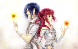 Gilbert and Ines Commission by yuumei