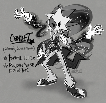 Comet the cosmic fortune teller by SparkleCactus