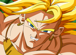 Broly Grin by MarcBruil
