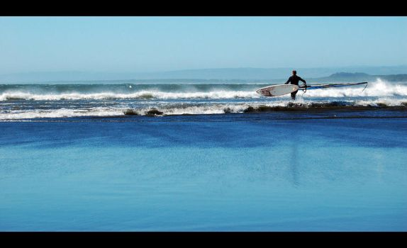 To the waves by PeLuZa