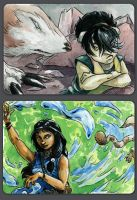 Avatar ACEO Set I by evanjensen