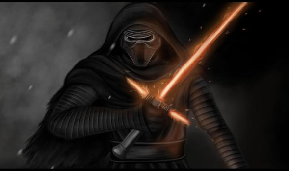 Kylo Ren by greenseed666