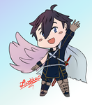 Smash Bros Ultimate - Chrom is an semi-angel [WIP] by Loustica