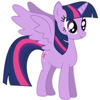 Request #66 ~ Alicorn Twilight Sparkle ~ by Radiant--Eclipse