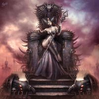 Hell Queen by DusanMarkovic