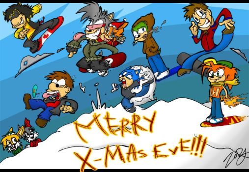 merry x-mas eve by ZoDy