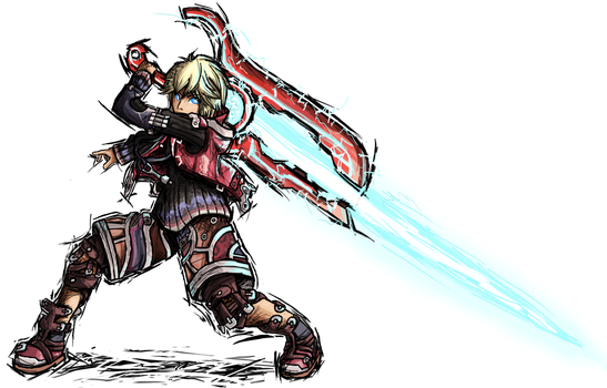 Smash Striker: Shulk by Tails1000