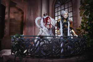 Trinity Blood - Balcony by Faeryx13