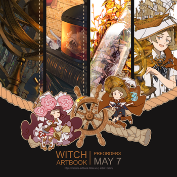.Preview: WitchArtbook: OPEN FOR WORLDWIDE ORDERS by Hetiru