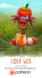 Day 1412. Cider Web by Cryptid-Creations
