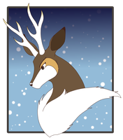 Winter Sawsbuck - Fleck