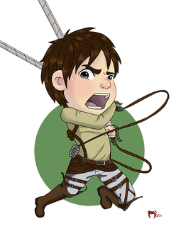 Chibi Eren by the-marou
