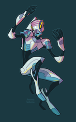 Robot by oxboxer