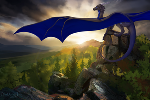 On top of the world by Dark-Arlett