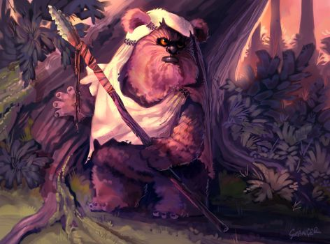 This Ewok is Ready. by Grainicus