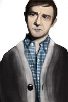 Somewhat Martin Freeman by WithSongsOfDefeat