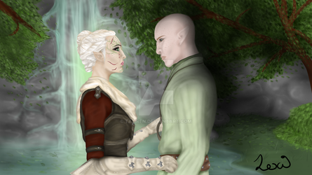 The Herald and the Dread Wolf by Taliren