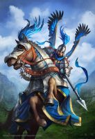 Cavalry Champion by Takeda11