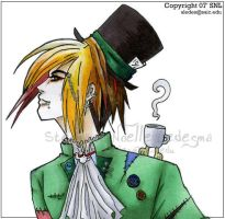 Mad Hatter by CasualVillain