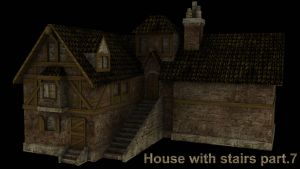House with stairs part.7 by DennisH2010