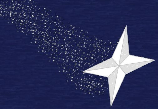 Shooting Star Wallpaper by Eternal-Starlight28