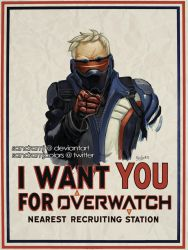 I want you for Overwatch by SandraMJ