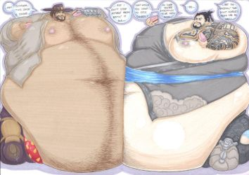 overweight part 2 by prisonsuit-rabbitman