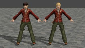 Dead or Alive 5 Ultimate Eliot Casual Costume by zareef