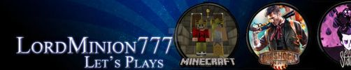 Banners for a YouTuber - 2 by ShatteredAngel08