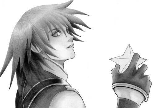 riku kingdomhearts by palp