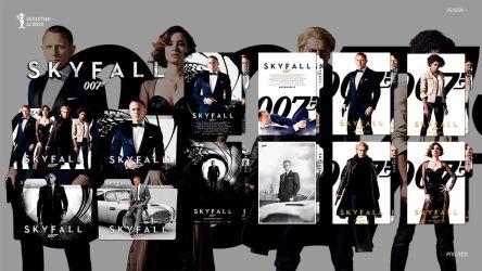 007 Skyfall (2012) Folder Icon by sebasmgsse