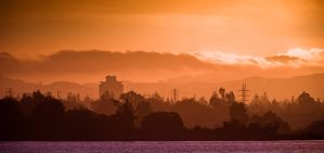 Palo Alto from Shoreline by JimmyDefiant