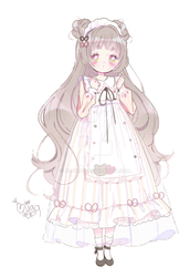 adoptable auction | coco latte bear | closed