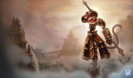 LoL - Wukong by KNKL