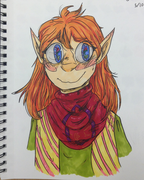 I have markers now by WarmishWinter