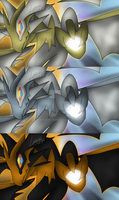 Ultra Necrozma Wallpaper [with shiny]