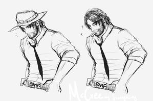 casual mccree by scathy-kitty