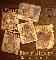 Most Wanted Badges by balaa