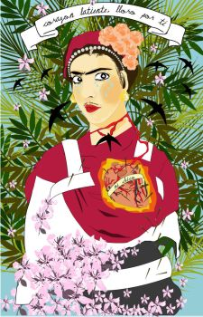kahlo tribute by betina