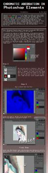 How to: Chromatic Aberration in Photoshop Elements by Citrine-K