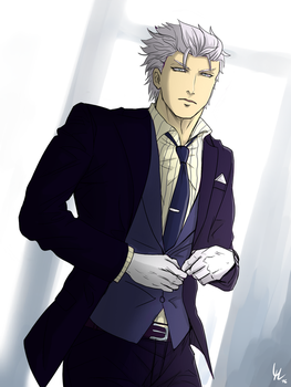 Business with Vergil [Devil May Cry] by YamiMidna