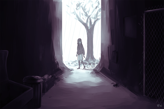Alley by Marraphy