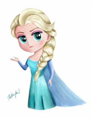 Frozen - Elsa (Chibi) Updated by TheKissingHand